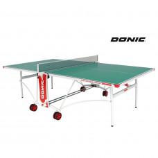 Теннисный стол DONIC OUTDOOR ROLLER DE LUXE зеленый