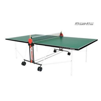 Теннисный стол ROLLER FUN GREEN с сеткой 4мм фотография товара