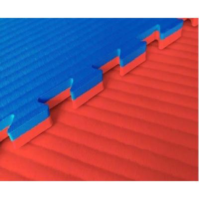 Будо-маты EVA 25 мм рисовая соломка (джудо), красно-синий фотография товара