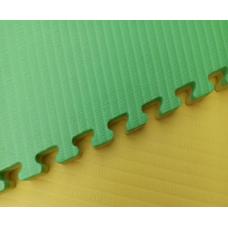 Будо-маты EVA 25 мм рисовая соломка (джудо), желто-зеленый фотография товара