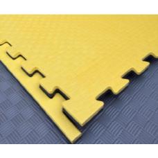 Будо-маты EVA 20 мм циновка, черно-жёлтый фотография товара