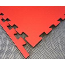 Будо-маты EVA 20 мм циновка, красно-чёрный фотография товара