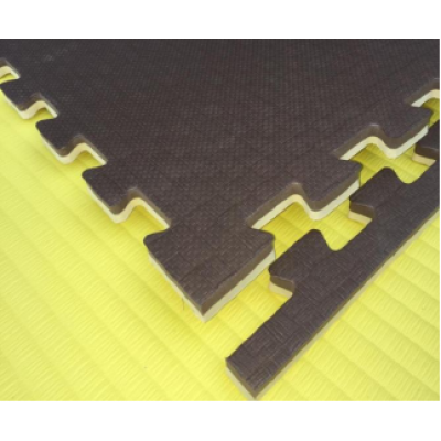 Будо-маты EVA 20 мм циновка, коричнево-бежевый фотография товара