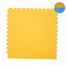 Будо мат 40 мм сине-желтый фотография товара