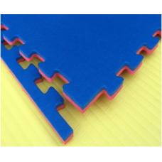 Будо-маты EVA 20 мм циновка, красно-синий фотография товара