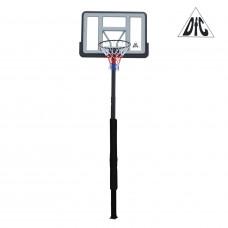 Баскетбольная стационарная стойка ING44P3 112*75см