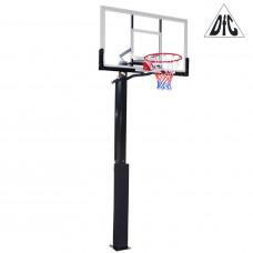 Баскетбольная стационарная стойка ING56A 143*80см