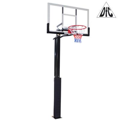 Баскетбольная стационарная стойка ING56A 143*80см фотография товара