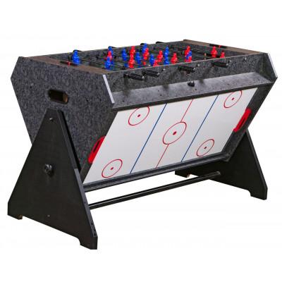 Стол-трансформер«Vortex 3-in-1»(3 игры: аэрохоккей, футбол, бильярд) фотография товара