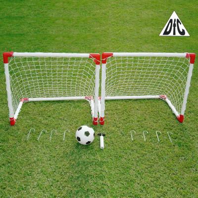 Ворота футбольные игровые DFC 2 Mini Soccer Set фотография товара