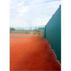 Против ветровой теннисный фон  2х12 м