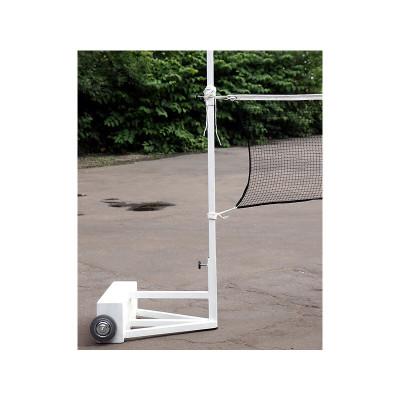 Волейбольные мобильные стойки с противовесами фотография товара