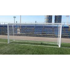 Ворота футбольные алюминиевые d100 разборные 5,0х2,0м