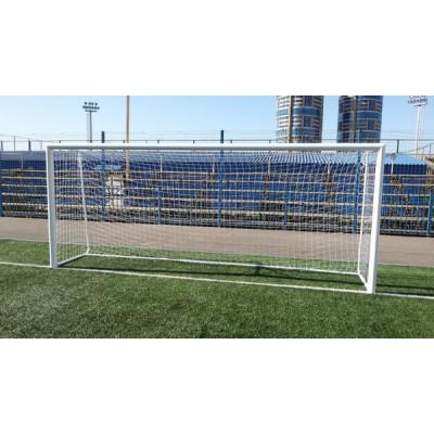 Ворота футбольные алюминиевые d100 разборные 5,0х2,0м фотография товара