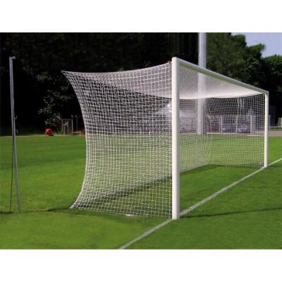Ворота футбольные алюминиевые d100 разборные 7,32х2,44м (с стаканами) фотография товара