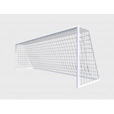 Ворота футбольные алюминиевые d76 переносные 5,0х2,0м