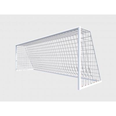 Ворота футбольные алюминиевые d76 переносные 5,0х2,0м фотография товара