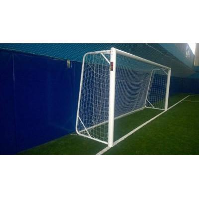 Ворота футбольные переносные 7,32х2,44 м фотография товара